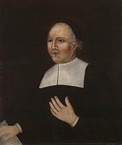 Reverend John Davenport by the Davenport Limner 1670.jpeg