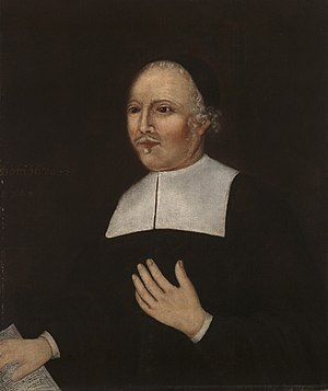 John Davenport (minister) - Portrait of John Davenport, 1670. Yale University Art Gallery