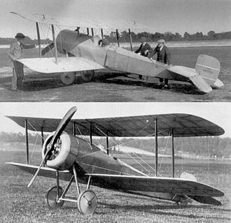 Bristol Scout - The revised Bristol Scout A in the late spring of 1914.