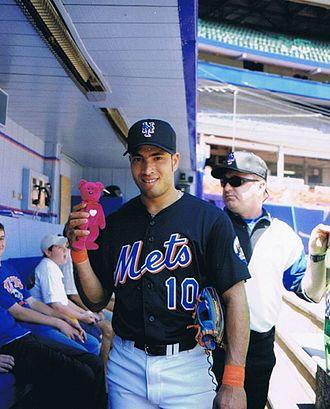 Rey Ordóñez - Ordóñez with the New York Mets