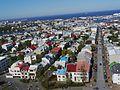 Reykjavík Blick von der Hallgrímskirkja 09.JPG