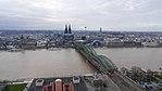 Rheinhochwasser 2018 in Köln KölnTriangel 13.jpg