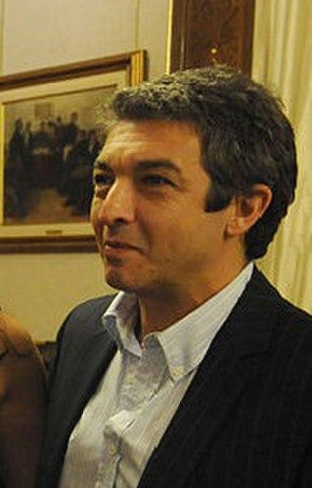 Ricardo Dar%C3%ADn en la Casa Rosada 2010-03-18