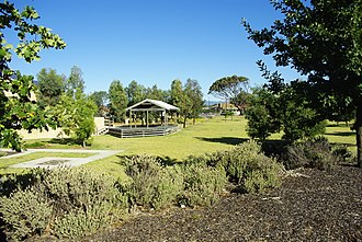 Ferryden Park, South Australia - Richard Day Reserve, facing south-east from York Terrace