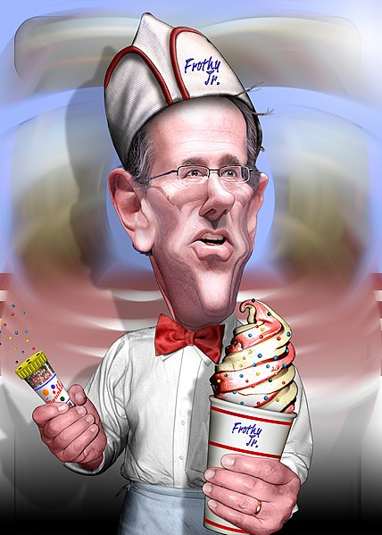 File:Rick Santorum, Soda Jerk - Caricature.jpg