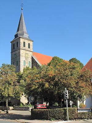 Hörstel - Image: Riesenbeck, Sankt Kalixtus Kirche Dm 42 foto 13 2013 09 28 14.30