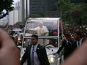 World Youth Day 2013 - Pope Francis in Rio