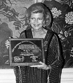 Rita Hayworth in 1977.