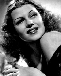 Rita Hayworth American actress, dancer and director (1918-1987)