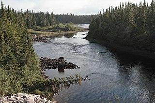 Corneille River river in Canada