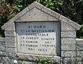 Road marker St Ouen Jersey 1935.jpg