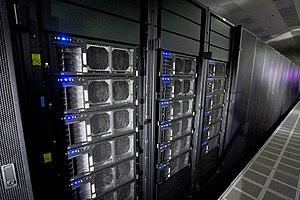 IBM Roadrunner - Image: Roadrunner supercomputer Hi Res