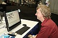 Rob Miles using HP TouchSmart 20081028a.jpg