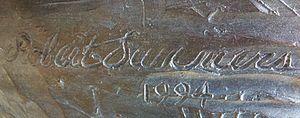 Robert Summers (artist) - Signature of Robert Summers