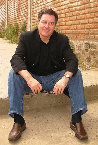 Roberto Ampuero - Roberto Ampuero en Valparaíso (3 de noviembre de 2008)