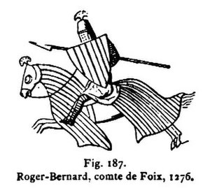 Count of Foix - Image: Roger 1276