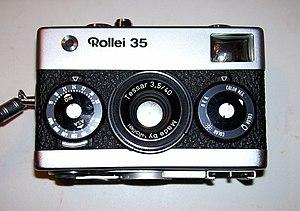 Tessar - Tessar 40/3.5 lens made by Rollei.
