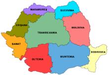 Cartina Dettagliata Romania.Geografia Della Romania Wikipedia