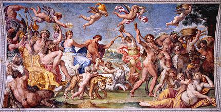 Trionfo di Bacco e Arianna; Annibale Carracci