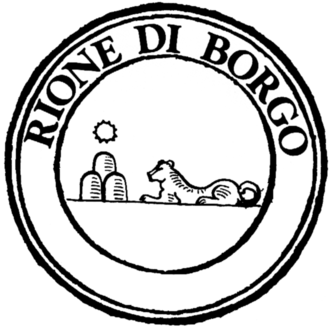 Borgo (rione of Rome) - Coat of arms of the rione