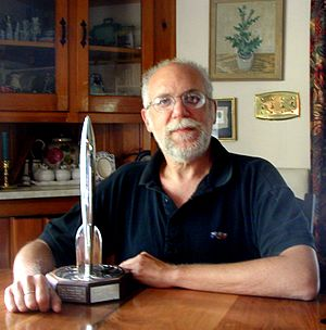 Ron Miller (artist and author) - Ron Miller, space artist, science fiction illustrator and author.