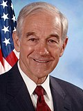 Ron Paul, official Congressional photo portrait, 2007 (cropped).jpg