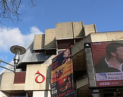 Roof line, St David's Hall, Cardiff. - geograph.org.uk - 1185988.jpg