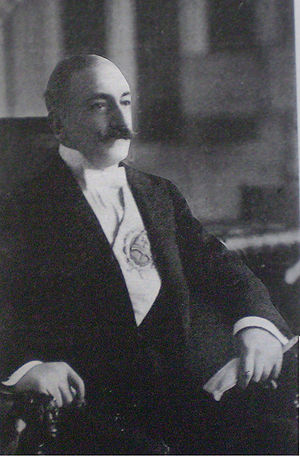 Argentine legislative election, 1912 - President Roque Sáenz Peña, who made these - Argentina's first free and fair legislative elections - possible despite pressure from his own social class.