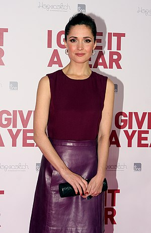 Rose Byrne - Byrne at the Sydney film premiere of I Give It a Year in 2013