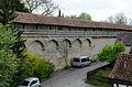 Rothenburg ob der Tauber, Stadtmauer, Klingeschütt südl. Kummereck, 001.jpg