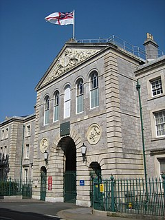 Stonehouse Barracks military installation at Stonehouse, Plymouth in the UK