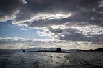 Royal Navy SSBN HMS Victorious nears Faslane MOD 45155471.jpg