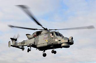 AgustaWestland AW159 Wildcat - Wildcat HMA2 naval variant in 2013