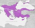 Rozsah Byzantské říše kolem roku 1180.png