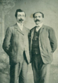 Ruben Zardaryan and General Andranik 1915 Yerevan.png