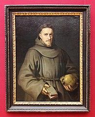 Portrait of a Franciscan friar.