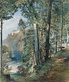 Rudolf von Alt – Hradec nad Moravicí Castle, 1850.jpg