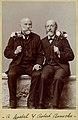 Rudolph Goebel (left) and Robert Benecke, 60th Birthday portrait.jpg