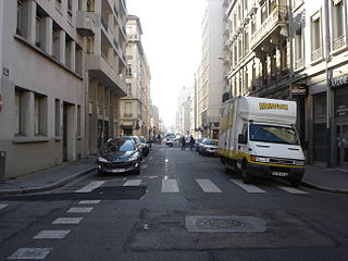 thoroughfare in Lyon, France