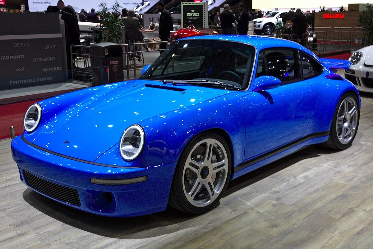 Porsche 911 T >> Ruf CTR 2017 – Wikipedia