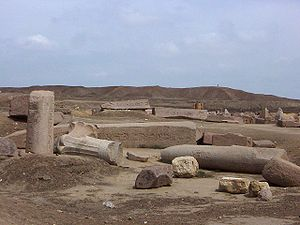 Tanis - The ruins of Tanis today