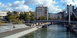 Ruoholahti - The Ruoholahti canal