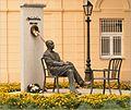 Sándor Márai - pamätník I - panoramio.jpg