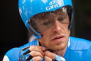 Sébastien Rosseler - Rosseler at the 2012 Critérium du Dauphiné