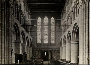 St John the Baptist's Church, Chester - St. John's, Chester, England, 1914.