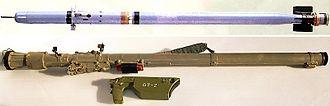 2002 Khankala Mi-26 crash - A 9K38 Igla launcher and missile