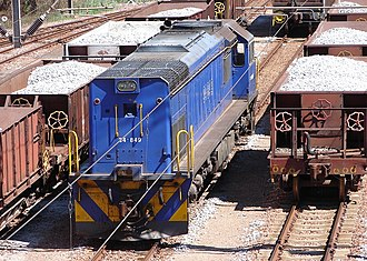 South African Class 34-800 - No. 34-849 at Rust de Winter, Limpopo, 6 October 2009