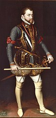 Philips II (1527-1598), King of Spain