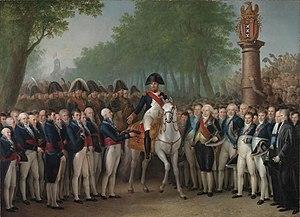 Mattheus Ignatius van Bree - De intocht van Napoleon te Amsterdam, 9 oktober 1811 by Mattheus Ignatius van Bree