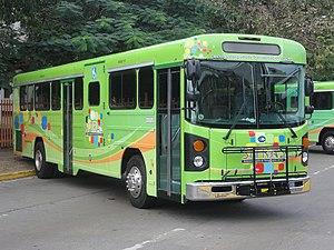 SITRAS - Closeup of a SITRAS bus